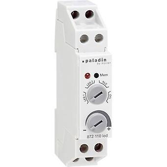 Müller 23384 DIN-rail dimmer Suitable for light bulbs: LED bulb, Light bulb, Halogen lamp, Energy saving bulb Grey