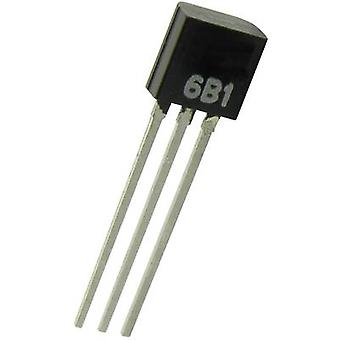 B & B Thermo-Technik TSIC506-TO92 Temperature sensor -10 up to +60 °C TO-92 Radial lead