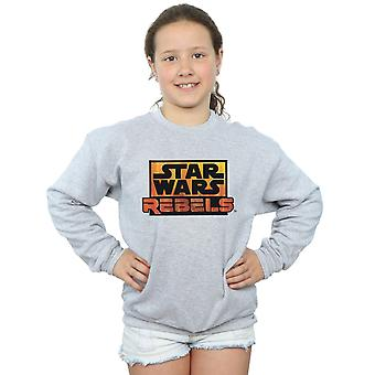 Hvězdné války dívky rebelové logo na tričko