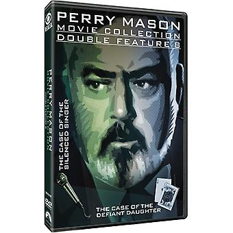 Perry Mason Double Feature: The Case of Silenced [DVD] USA import