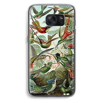 Samsung Galaxy S7 Transparent Case (Soft) - Haeckel Trochilidae