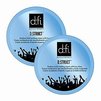 2-pack D:fi D:struct Molding Cream 75g + 150g