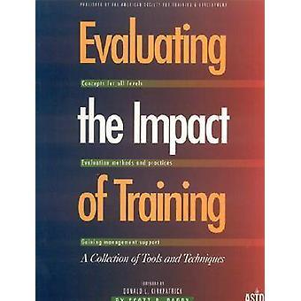 تقييم أثر التدريب--مجموعة من الأدوات وتيتشنيقو