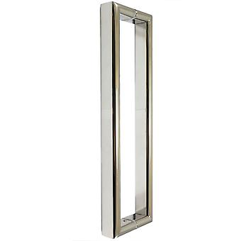 300mm Shower Door Handle | 30cm (approx. 12 Inches) Hole to Hole | Stainless Steel