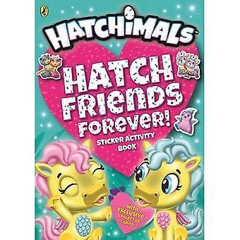 Hatchimals: Luke Freunde für immer! Aufkleber-Aufgabenbuch (Hatchimals)