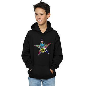 DC Comics jungen Teen Titans gehen Sterne Logo Hoodie