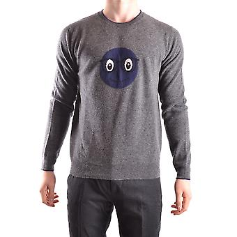 Altea Ezbc048031 Men's Grey Wool Sweater