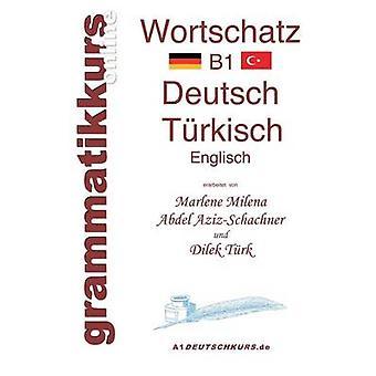 Wrterbuch Deutsch  Trkisch  Englisch Niveau B1 by Abdel AzizSchachner & Marlene Milena