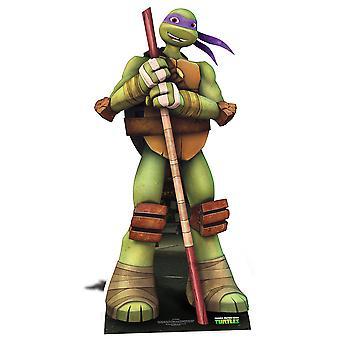 Donatello Teenage Mutant Ninja Turtles Lifesize karton gestanst / Standee / Standup - Nickelodeon-serie