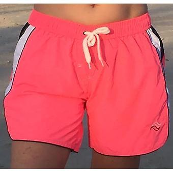 Аква Perla - женские-СЕРФ - розовый - плавать короткие с боковыми карманами Zip