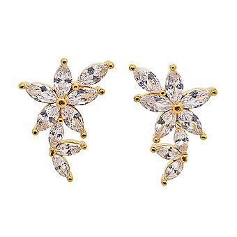 Ah! Jewellery Designer Flower Crystals from Swarovski Earrings