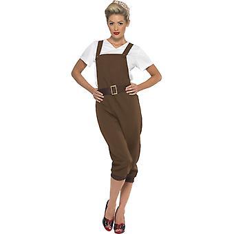 WW2 land girl kostym