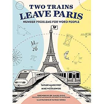 Dos trenes salen de París