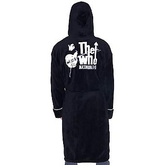 The Who Maximum R&B Fleece Dressing Gown  - ONE SIZE