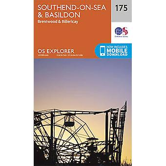 Southend-On-Sea & Basildon (September 2015 ed) by Ordnance Survey - 9