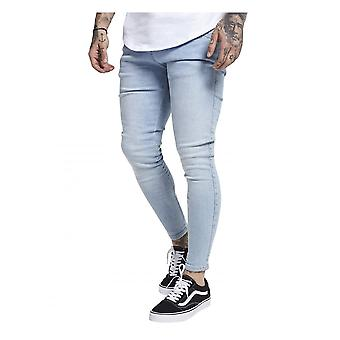 Sik Silk Skinny Denims Light Blue