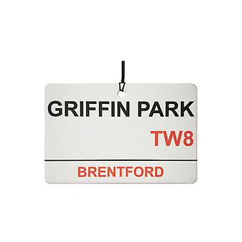 Brentford / sommerfest Griffin Logg bil Air Freshener