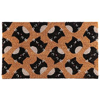 Puckator Feline hieno kissa kookos ovi matto