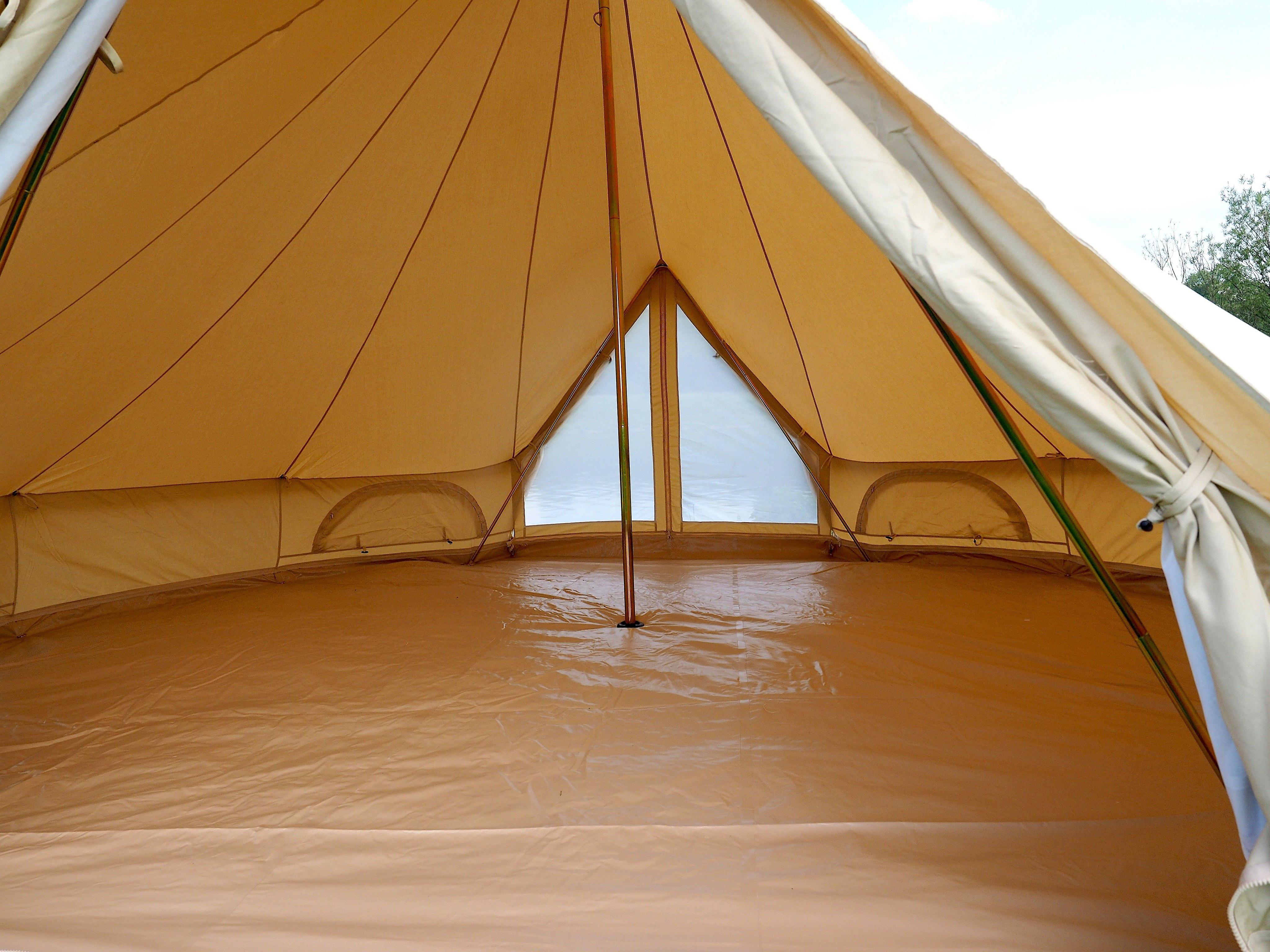 6M Double Door Canvas Bell Tent
