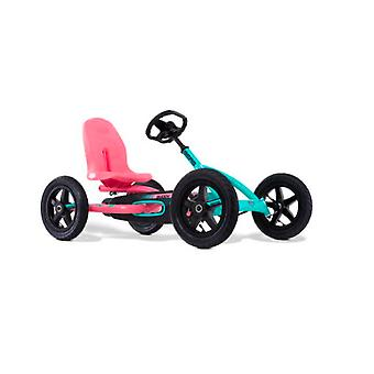 BERG mint/pink buddy lua pedal kids go kart for age 3-8 year old