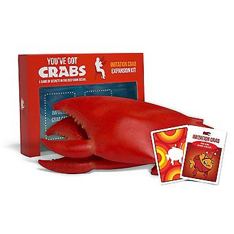 You've Got Crabs Imitation Crab Expansion Kit for Card Game
