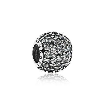 Pandora bana boll Silver & klar CZ charm 791051CZ