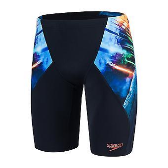 Speedo Placement Digital V Jammer Swimwear For Boys