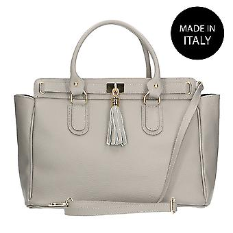 Borsa a mano in pelle Made in Italy 80048