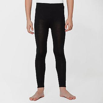 Uusi Peter Storm Kids Merino Baselayer leggingsit musta
