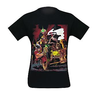 Earth-2 #20 Steampunk Variant Cover Men's Camiseta