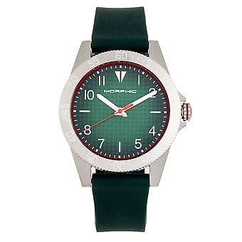 MORPHIC M84 serie horloge-groen