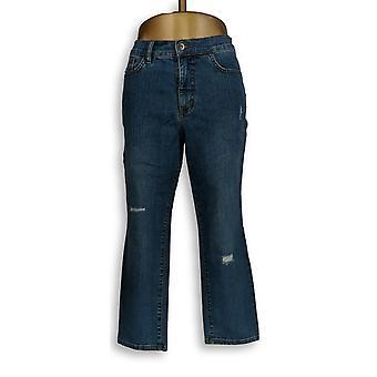 Denim & Co. Women's Petite Jeans Classic Denim Blue A304476