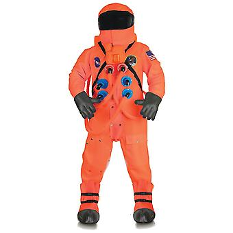 Men Astonaut Deluxe Costume Orange