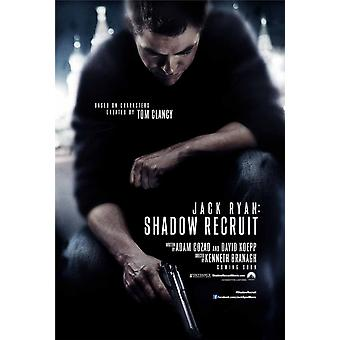 Jack Ryan: Shadow Recruit Double Sided Original Movie Poster - Advance Style