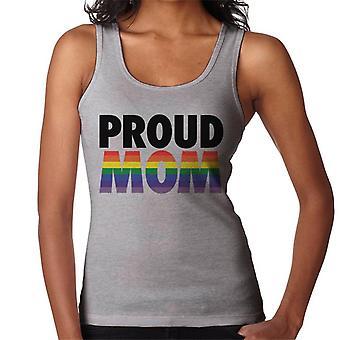 Veste da mulher orgulhosa da mamã do orgulho