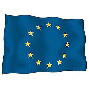 Sticker Autocollant Drapeau Exterieur Vinyle Voiture Moto Europe Europeen