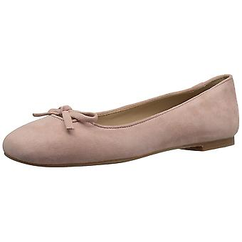 Amazon Brand - The Fix Women's Zavala Structured Bow Ballet Flat