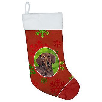 الكلب الألماني الأحمر والأخضر الثلج عطلة عيد الميلاد عيد الميلاد تخزين SC9408