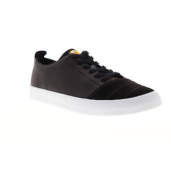 Camper Imar Copa Mens Black Suede & Synthetic Low Top Lace Up Sneakers Shoes
