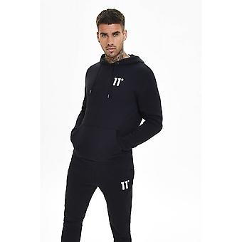 11 Degrees Core Pull Over Hoodie Black