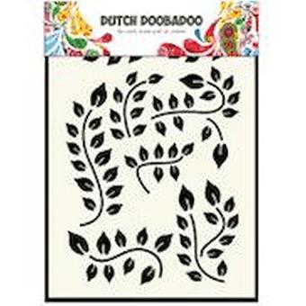Dutch Doobadoo A5 Mask Art Stencil - Leaves Branch #5033