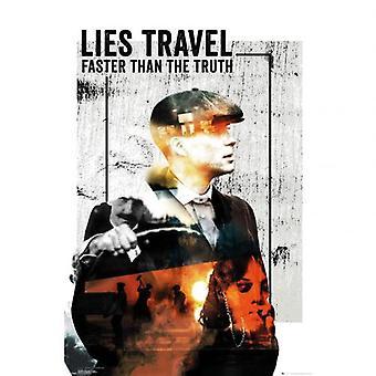 Peaky Blinders Poster Lies Travel 119