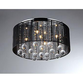 Kristallen plafond lamp