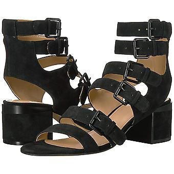 Brand - The Fix Women's Dolly Block Heel Buckle Gladiator Sandal
