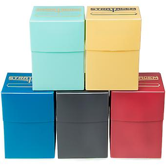 5-pack Blank Deck Boxes
