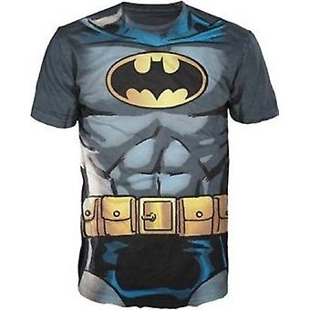 T-Shirt - DC Comics - Batman Muskel Kostüm T-Shirt Männer groß