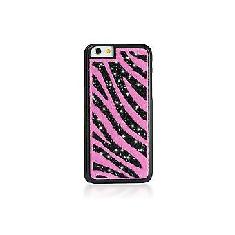 Case For IPhone 6 / 6s Glam Zebra Pink