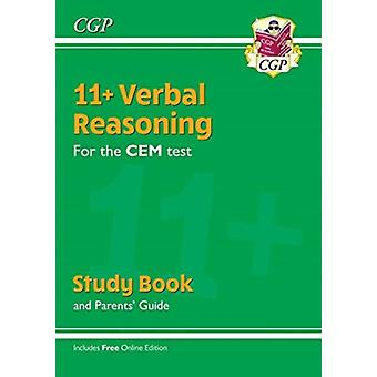New 11 CEM Verbal Reasoning Study Book with Parents Guide
