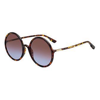 Dior So Stellaire 3 EPZ/YB Gelb-Rot Havanna/Blau-Rot Farbverlauf Sonnenbrille