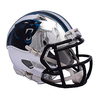 Riddell mini football helmet - NFL CHROME Carolina Panthers